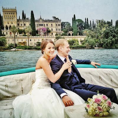 noleggio barca matrimonio garda