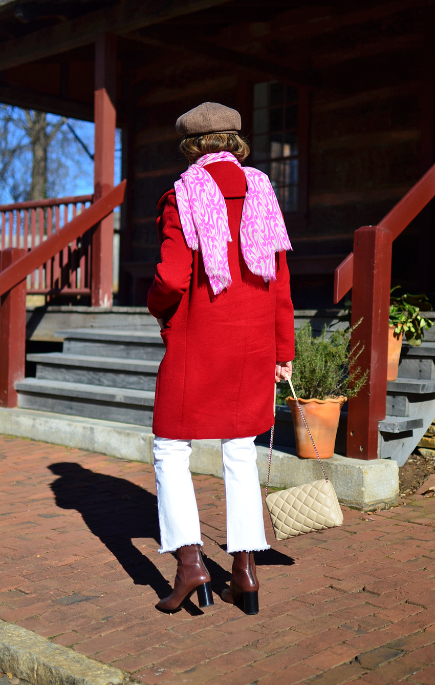 Colorful Winter Look Street Style