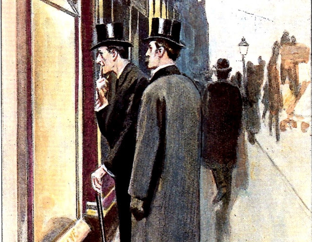 Even Sherlock Holmes liked browsing in shop windows.