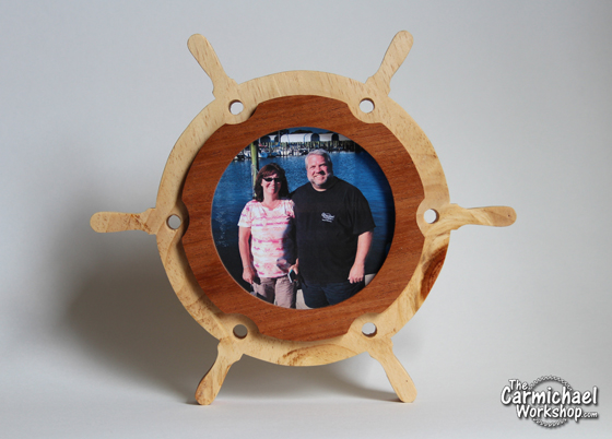 Captain's Wheel Picture Frame by The Carmichael Workshop