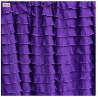 Grape Purple Shower Curtain