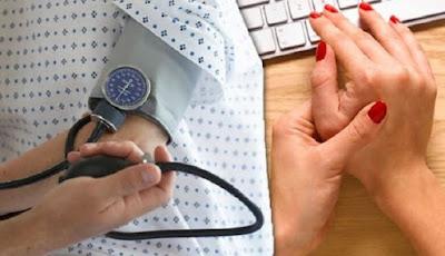 gejala tekanan darah tinggi di tangan