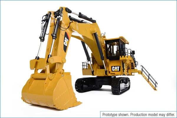 Cat® 6020B Sample - Classic Construction Models
