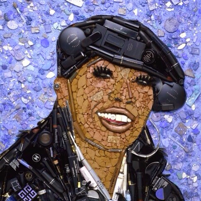 08-Missy-Elliott-Jason-Mecier-Paintings-or-Sculptures-in-Portrait-Collage-www-designstack-co