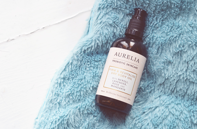 Obsessed With: Aurelia Firm & Revitalise Dry Body Oil