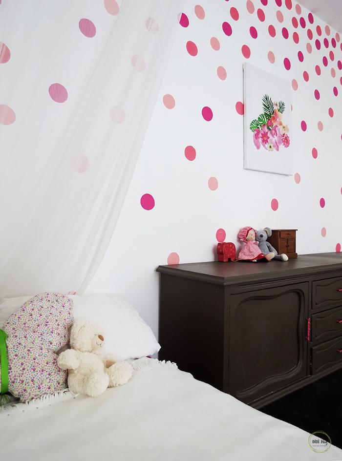 Ragasszunk színes pöttyöket a falra! - Díszléc és LED lámpa Webáruház