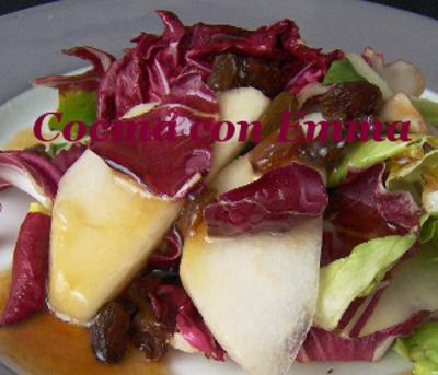 Ensalada vegetal con frutas-2