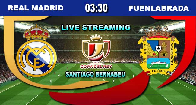 lvie streaming real madrid vs fuenlabrada 29 november 2017