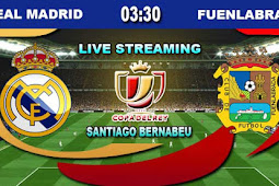 Live Streaming Real Madrid vs Fuenlabrada 29 November 2017