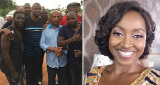 kate henshaw blasts Nigerian police for chillin with Evans