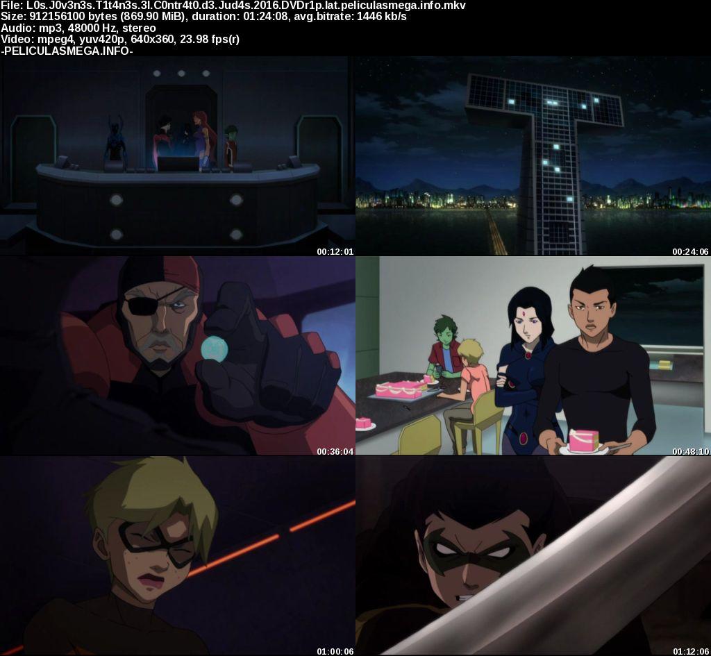 Descargar Teen Titans: El contrato de Judas Latino por MEGA.