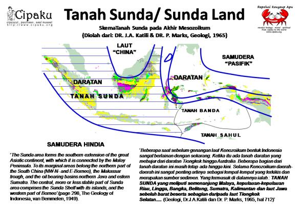 Penjelasan Tentang GeoSunda/ Tanah Sunda/Sunda Land