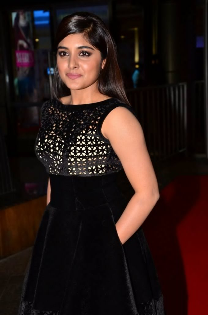 Niveda Thomas at Jio Filmfare South Awards 2017