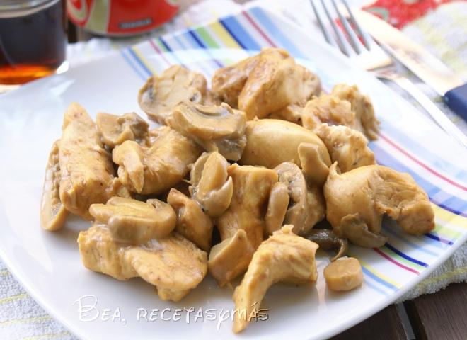 Pechugas de pollo a la cocacola