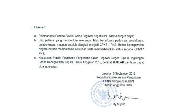 Info Formasi Cpns Kediri 2013 Lowongan Dosen Non Cpns Universitas Brawijaya 2017 Cpns 2013 Badan Kepegawaian Negara Bkn Formasi 53 Info Cpns
