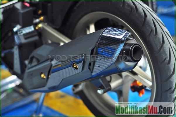 Knalpot Bobok Standard - Upgrade CVT Cara Meningkatkan Performa Vario 150 Esp Dengan Bore Up