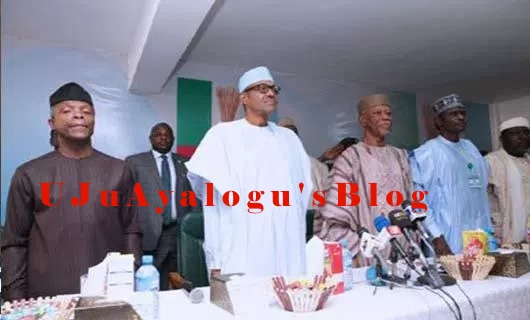 2019: Buhari's 2nd Term Bid Suffers Set Back As Plot To Endorse Him As APC Sole Candidate Botched AT NEC Meeting