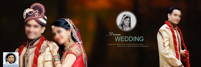 Wedding Album PSD DM