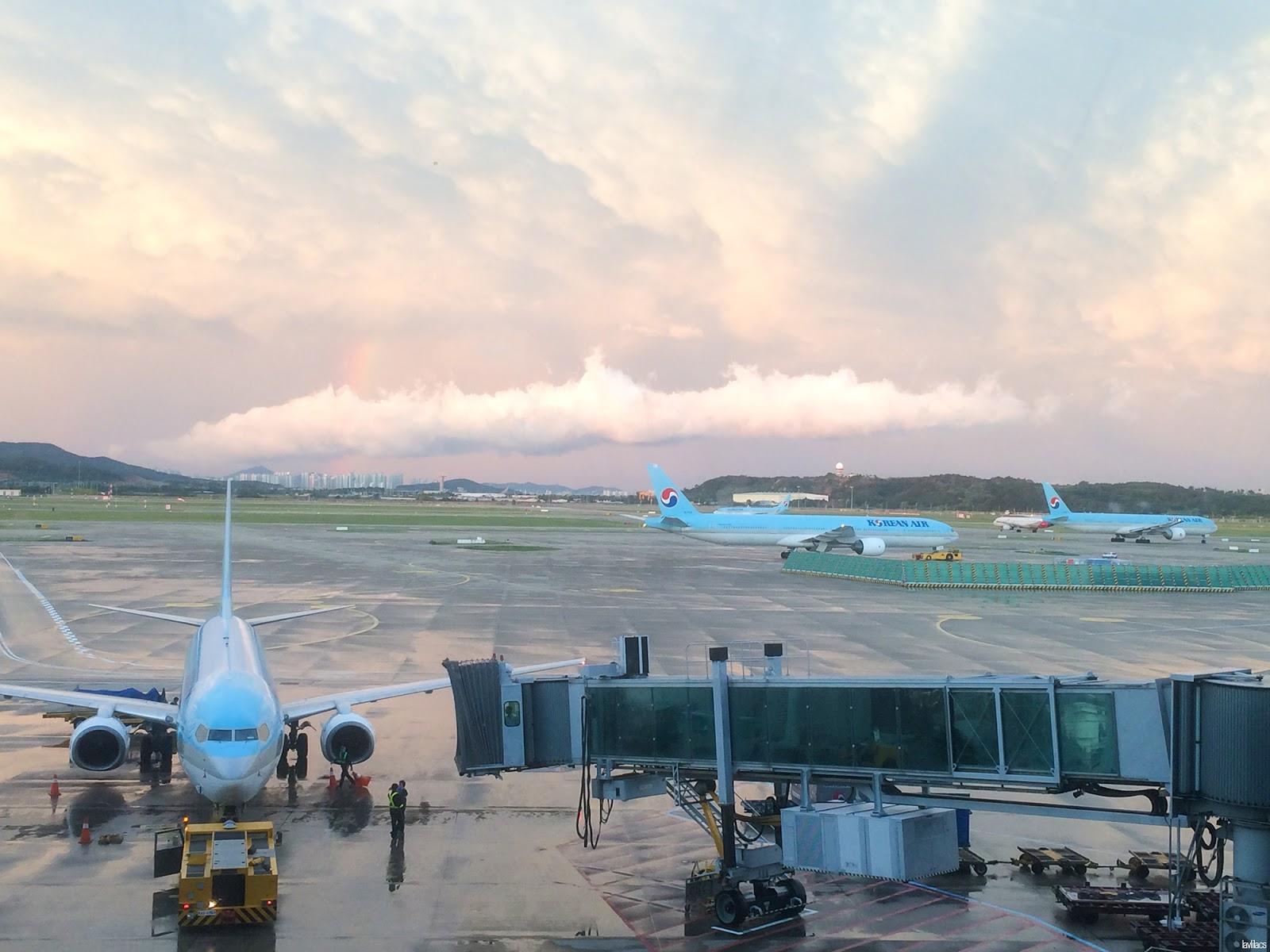 Seoul, Korea - Summer Study Abroad 2014 - Brightness after a storm