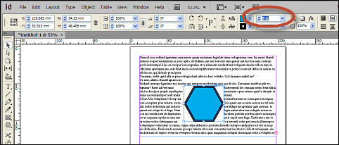 Confirm and keep selected in Adobe InDesign