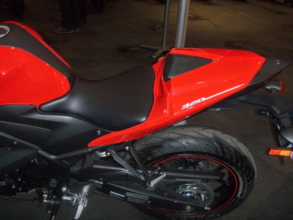 YZF-R3 Seat Cowl