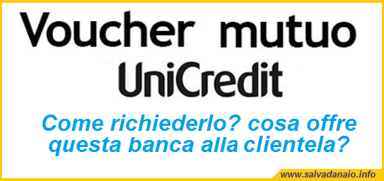 Voucher mutuo Unicredit