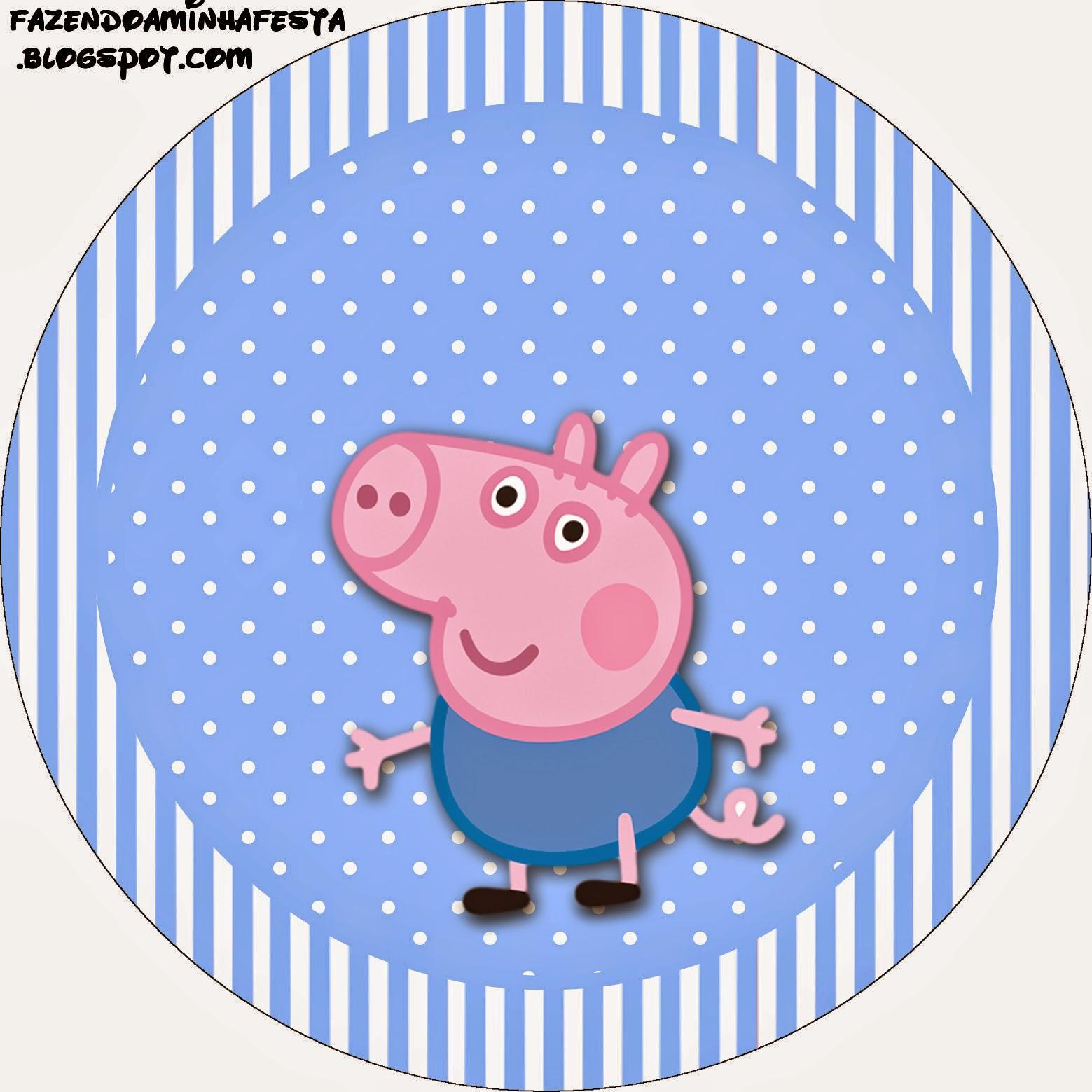 George Pig: Etiquetas para Candy Bar para Imprimir Gratis.   Ideas y ...