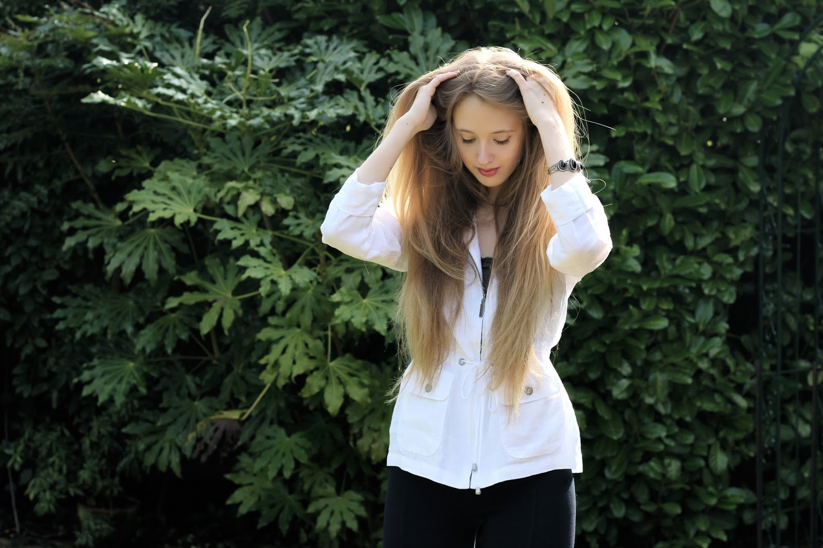 uk fashion blogger long hair 2016