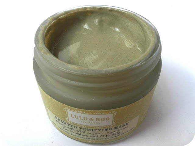 A picture of Lulu & Boo Seaweed Purifying Mask