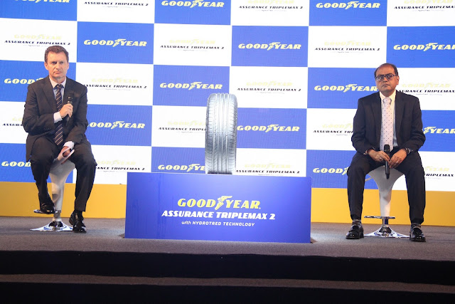 Goodyear Launches Assurance TripleMax 2: Stop Faster, Drive Safer