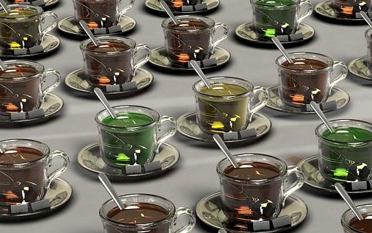 معلومات عن الشاى ( الاسود والاخضر والصينى ) وفوائدة واضرارة