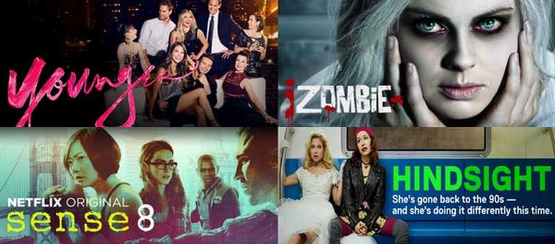 SERIES JUNKIE • du girly, des zombies et de l'action.