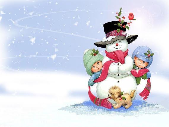 download besplatne Božićne pozadine za desktop 1600x1200 čestitke blagdani Merry Christmas snjegović