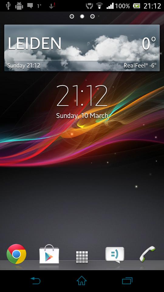 Description: Download Sony Xperia Z Launcher APK