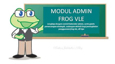 Modul Khas Untuk Admin Frog VLE