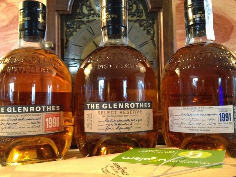 Introducción al Whisky - Whisky - güisqui - RAE - The Glenrothes 1991 - The Glenrothes 1998 - The Glenrothes Select Reserve - Wejoyn - Álvaro García - alvarogp - el gastrónomo - el troblogdita