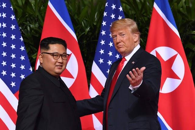 Встреча Трампа и Ким Чен Ына