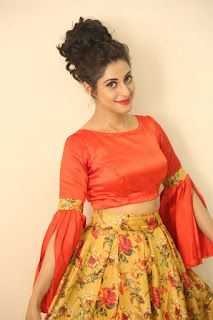 Actress Iraa Stills IN Floral Skirt at Vaadu Veedu O Kalpana Audio Launch  0011.jpg