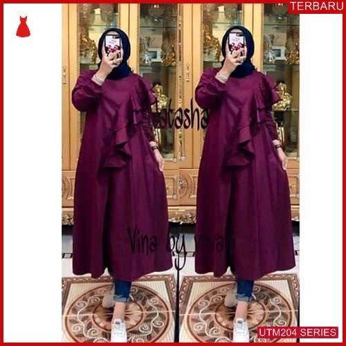 UTM204N80 Baju Natasha Muslim Longtunik UTM204N80 0CC   Terbaru BMGShop