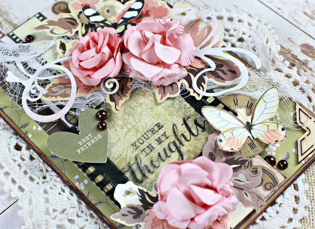 Kaisercraft Keepsake Card with Video Tutorial by Alicia McNamara