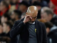 Champions League Results Liverpool Vs Manchester City, Pep Forces Failed to score goals