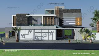 Contemporary Villa house design & Plan Dubai, Oman, Kuwait, Saudi Arabia, Qatar