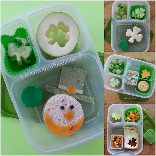 Creative Food: Simple St. Patrick's Day School Lunches