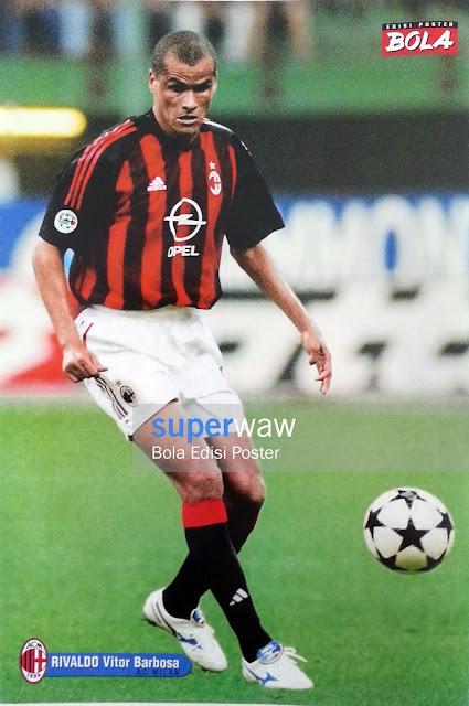 Poster Rivaldo (AC Milan)