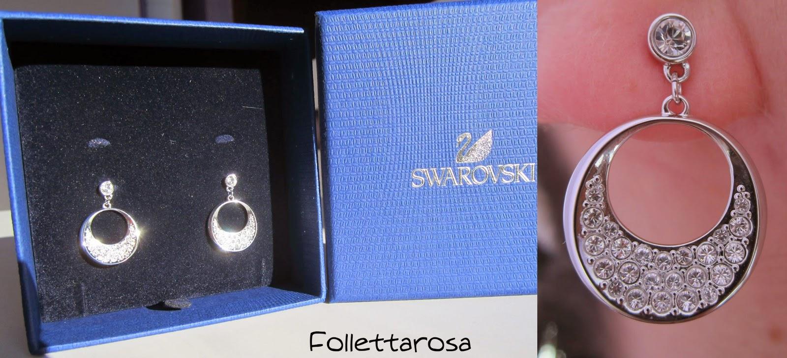 prezzo orecchini swarovski