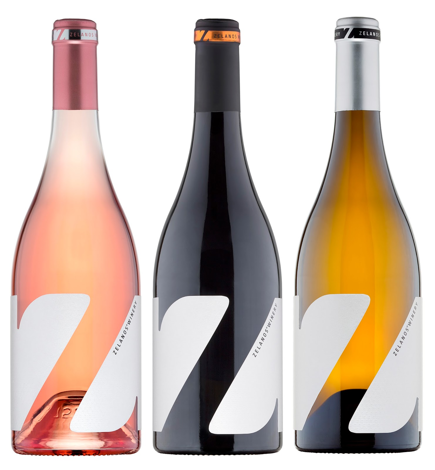 Z Wine Labels On Packaging Of The World Creative Package Design