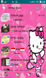 Droid Chat! v6.8.26 Hello Kitty Theme