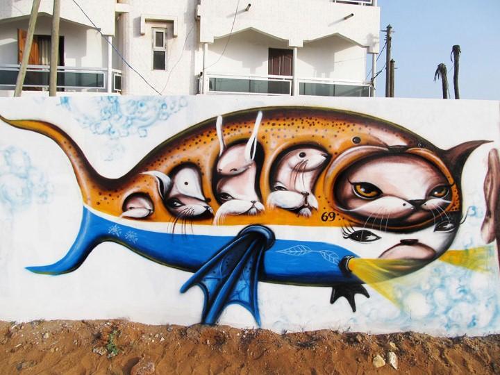 Andre Muniz Gonzaga. Street Art художник 31