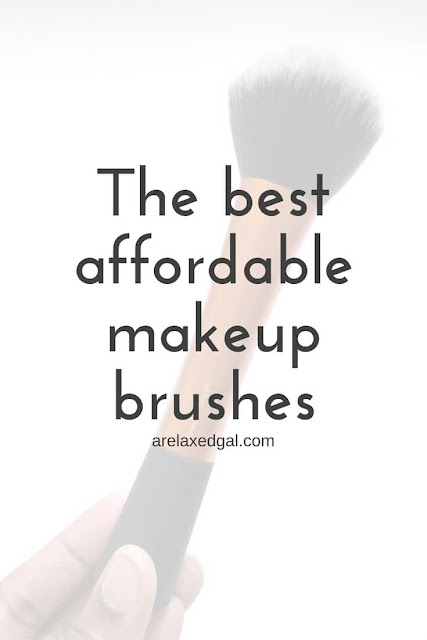 A review of two makeup brush brands that don't cost a fortune and are easy to find and buy. | arelaxedgal.com