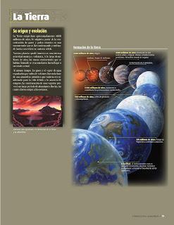Apoyo Primaria Atlas de Geografía del Mundo 5to. Grado Capítulo 1 Lección 2 La Tierra, Su Origen y Evolución